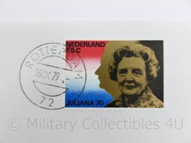 Korps Mariniers eerste dag envelop 50 jaar korpsvaandel 1929 1979 - origineel