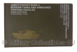 Jane's pocket book 4 zakboek - modern tanks and armoured fighting vehicles - origineel