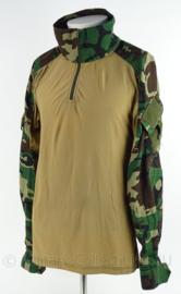 Korps Mariniers Ubac shirt woodland forest camo - merk Spe - maat L - Zeldzaam - origineel