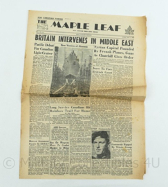 Krant Maple Leaf - 1 Juni 1945 -  origineel