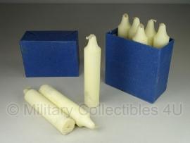 Zwitserse leger Kaarsen set voor Stearine Kerzenlaterne  - branden zeer lang!  - origineel