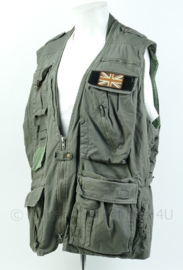 Britse Special Forces vest met embleem - maat XL - origineel
