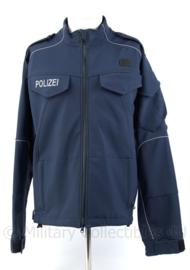 Duitse Polizei nieuw model softshell jack - ongedragen - zeldzaam - maat 52 - origineel