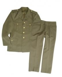 Italiaans uniform met broek GRP - groen- US class a model - origineel