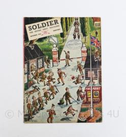 The British Army Magazine Soldier November 1954 -  Afkomstig uit de Nederlandse MVO bibliotheek - 30 x 22 cm - origineel