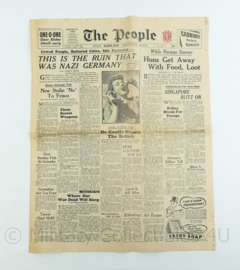 The People krant - June 3 1945- origineel