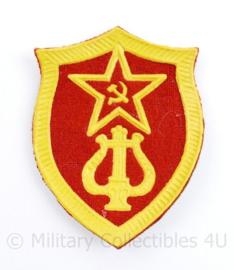 USSR Russische leger arm embleem muziekkorps - 7,5 x 5,5 cm - origineel