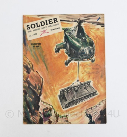 The British Army Magazine Soldier  July 1954 -  Afkomstig uit de Nederlandse MVO bibliotheek - 30 x 22 cm - origineel