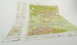 KL Nederlandse leger topografische kaart 1:50 000 - 40 West Arnhem - origineel