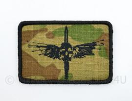 KCT Korps Commandotroepen Expandables embleem 103 Commandotroepencompagnie - met klittenband - 8 x 5,5 cm