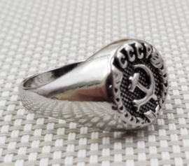 Russische USSR CCCP ring - replica - size 7, 8, 9 of 10