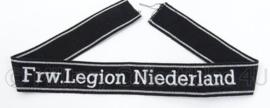 SS cufftitle Frw. Legion Niederland - manschappen
