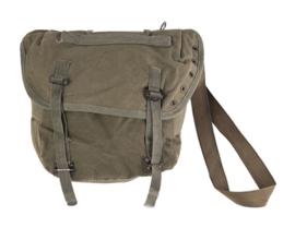 US Army model M-56 Individual Field Pack (BUTTPACK) tas met draagriem - replica