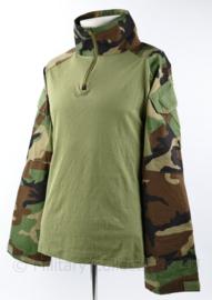 Korps Mariniers Emersongear UBAC shirt Woodland Forest camo - maat Large Regular - NIEUW - origineel