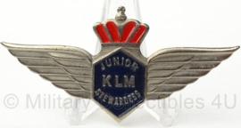 KLM  Junior Stewardess speld - 7 x 3 cm - origineel