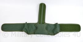 Defensie en Korps Mariniers GROENE profile Equipment MOLLE heupgordel en rugpadding - 43 x 31,5 x 17 cm - NIEUW - origineel