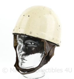 WW2 Canadian MP Dispatch Riders Motor helmet  BS 1944 - maat 6 7/8 - origineel