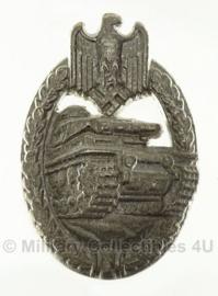 Panzerkampfabzeichen in Zilver