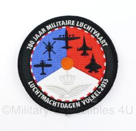 Klu Luchtmacht embleem Luchtmachtdagen Volkel 2013 100 jaar Militaire Luchtvaart - met klittenband - origineel