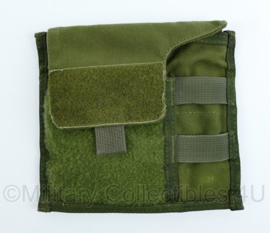 KL Nederlandse leger MOLLE office pouch - groen - 18 x 15,5 x 0,2 cm - origineel