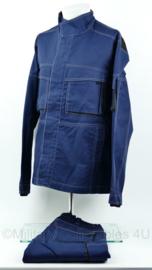 Veiligheidskleding werkjack mét broek blauw - maat XLarge - NIEUW - origineel