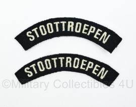 WO2 Nederlandse leger Stoottroepen straatnamen paar - model 1944 tm. 1946