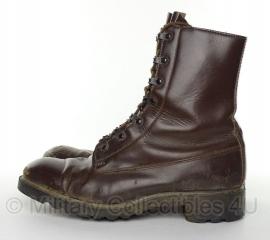 KL Nederlandse leger schoenen - bruin leer - vorig model - gebruikt - maat 40 tm. 46 !   - origineel