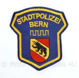 Embleem Stadtpolizei Bern Zwitserland - 10,5 x 9,5 cm - origineel