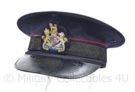 Nederlandse Ambtenaren platte pet van net de oorlog - British made 1943 - maat 7 1/4 - origineel