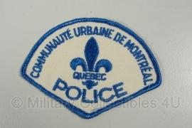 Canadees  Quebec  Politie embleem  De Montreal - origineel (versie 2)