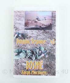 Videoband Korps Mariniers Bosnië Dynamic response 1998 - origineel