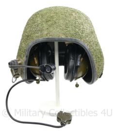 Deense / Britse Tanker helmet met radio aansluiting  - nieuw in de verpakking! - origineel