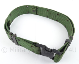 US Army en Korps Mariniers belt - Individual equipment nylon - huidig model - maat Large/afmeting 94,5 x 6 cm - origineel