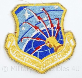 USAF US Air Force embleem - Air Force Communications Service - 8 x 7,5 cm -  origineel