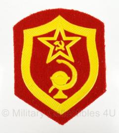 Russische USSR arm embleem - 8,5 x 6,5 cm - origineel