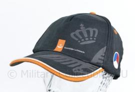 Klu Luchtmacht zwarte baseball cap - one size - origineel