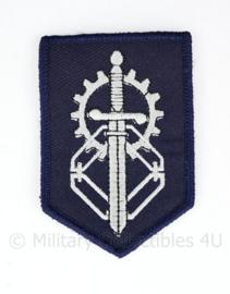 Defensie MatLogCo Materieellogistiek Commando Land embleem - met klittenband - 8 x 5,5 cm