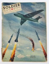 The British Army Magazine Soldier Vol.8 No 8 October 1952 -  Afkomstig uit de Nederlandse MVO bibliotheek - 30 x 22 cm - origineel