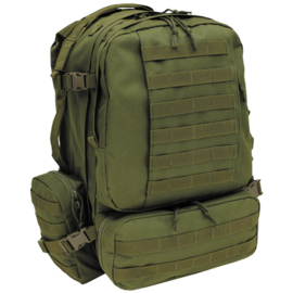 Tactical Modular backpack 45 liter  GREEN