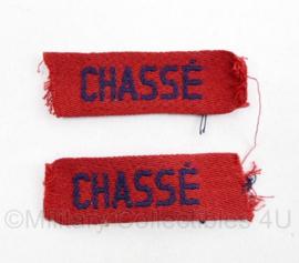 MVO straatnaam PAAR Chassé - 6 x 2 cm - origineel