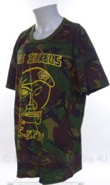 """KL Woodland shirt """"de bikkels  Eefde"""" - Garde Grenadiers - korte mouw  - gebruikt - maat 8090/0515 - origineel"""