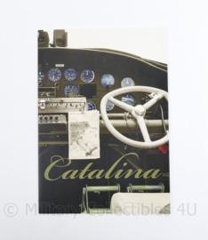 Brochure Catalina vliegtuig - origineel