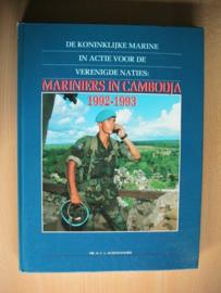 Boek Mariniers in Cambodja 1992-1993