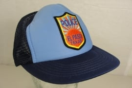 Police El Paso Texas Baseball cap - Art. 567 - origineel