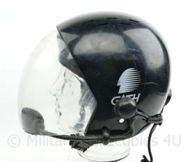 Gath Helmet met intercom set en visier - met barstje - medium - origineel