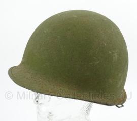 Israelische IDF M1 helm met originele liner - origineel