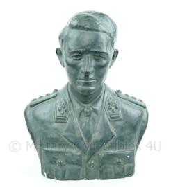 King Boudewijn Bust Hildebert Derre Antwerpen 1953 Koning Boudewijn Buste - 51 x 28 x 58 cm.  (l x b x h) - 10,5 kg