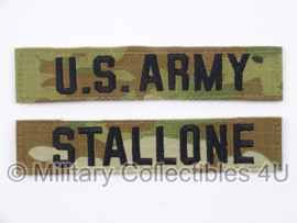US Army OCP multicamo 'STALLONE' branch tape/naamlint SET