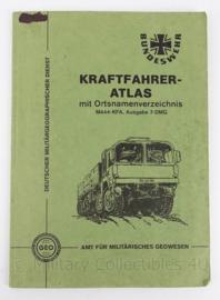 BW Bundeswehr Kraftfahreratlas handboek - origineel