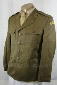 Bruin uitgaans uniform set - wo2 US model - jas met broek -origineel